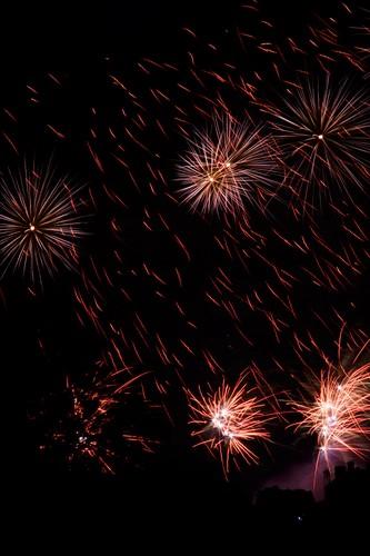 Edinburgh International Festival closing fireworks